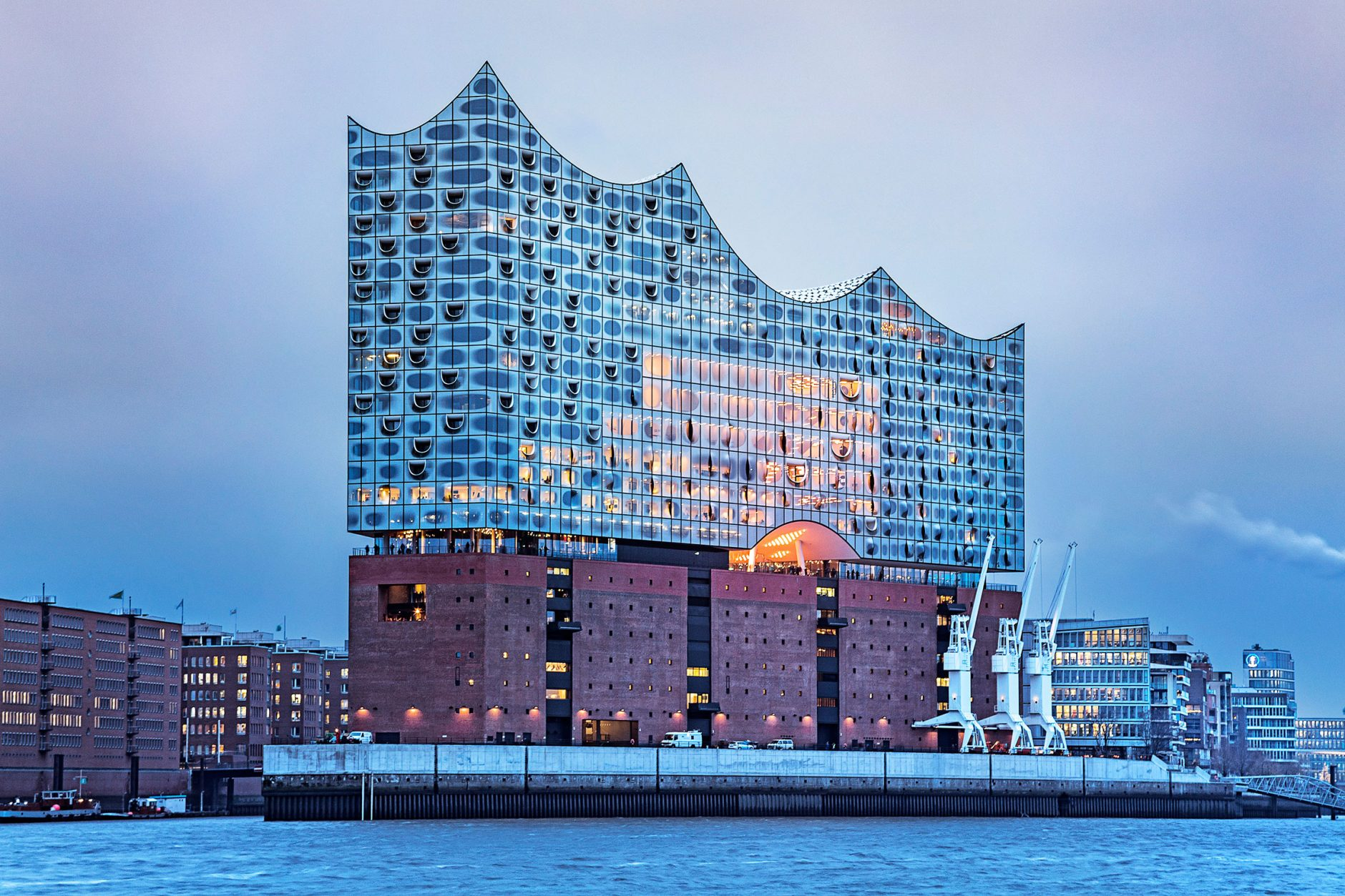 The Design For The New Elbphilharmonie.